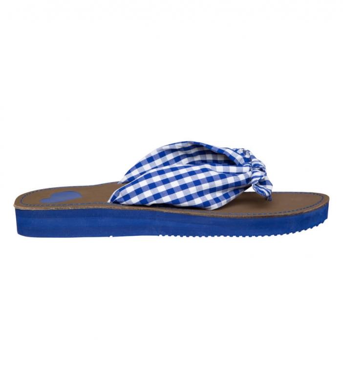 Sommersandale Slipper 4113-8 blauw
