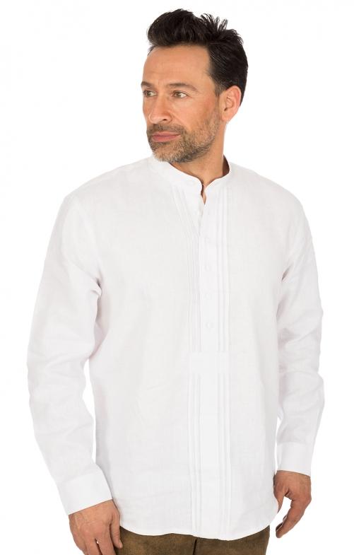 Klederdrachthemd Pfoad wit