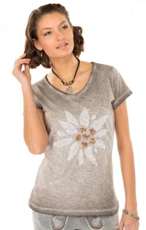 f593c099ea88f9 Hangowear Klederdracht T - Shirt Missy grijs - bestellen