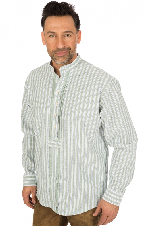 Klederdrachthemd Pfoad groen
